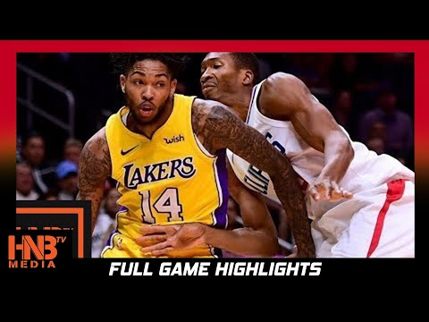 Thumbnail: Los Angeles Lakers vs LA Clippers Full Game Highlights / Week 1 / 2017 NBA Season