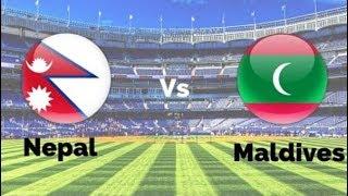 Nepal vs Maldives football Highlights