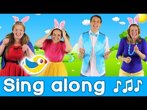 Sing Along - Hippity Hop - Counting Easter Eggs - with lyrics!
