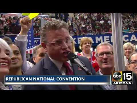Arizona Delegates represent AZ GOP at Republican National Convention