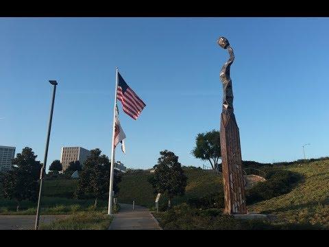Sculpture Exhibition In Civic Center Park | Newport Beach | California