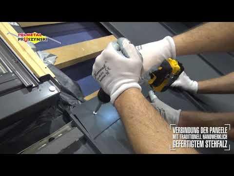 Montageanleitung für Dachpaneele mit Stehfalz - Teil 5