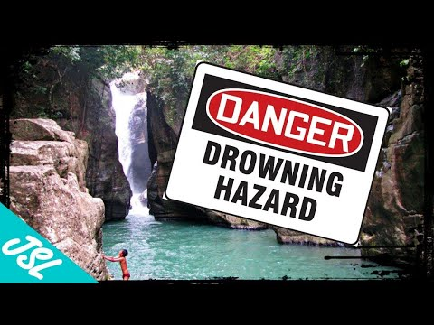 Near DEATH Experience in Indonesia! My Cunca Wulang Waterfall Story