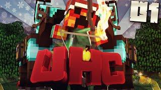 Minecraft YOUTUBER WINTER UHC - #1 (Minecraft Ultra Hard Core) w/PrestonPlayz