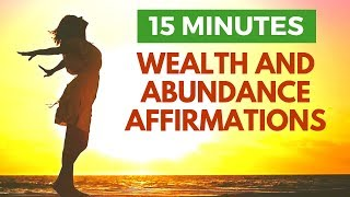 Attract Wealth & Abundance | Morning I AM Affirmations | 21 Day Challenge