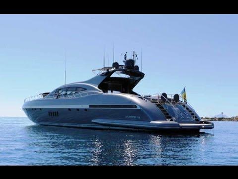 JFF Mangusta 108 Superyacht for Charter Riviera