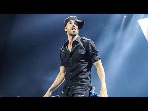Enrique Iglesias performing in Greece,  Athens
