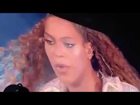 Beyoncé performing Resentment   On The Run II
