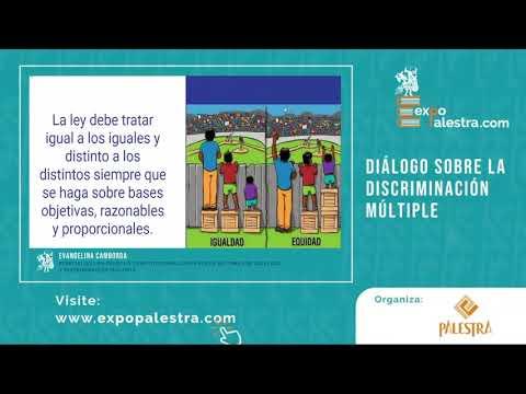 """Conversatorio: """"Diálogo Sobre la Discriminación Múltiple"""""""