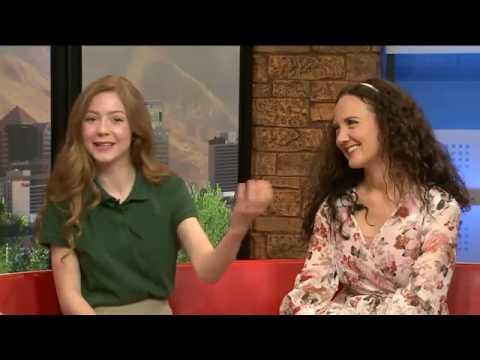 Lexi Walker and Jenny Oaks Baker on Fox 13 (2017)