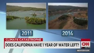 Does California have 1 year of water left?