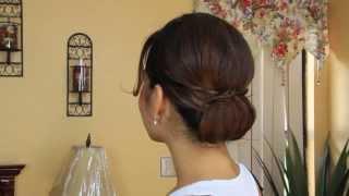 HOW TO: Stylish Chignon