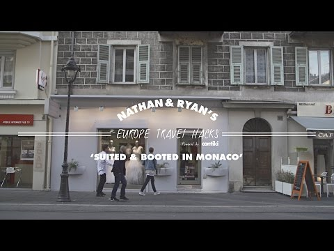 SUITED & BOOTED IN MONACO // Nathan & Ryan's Europe Travel Hacks - Contiki