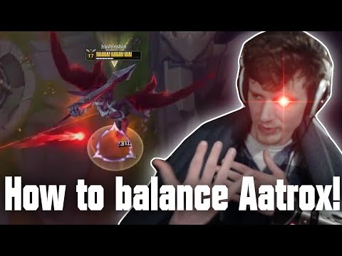 Hashinshin: How to Balance Aatrox!