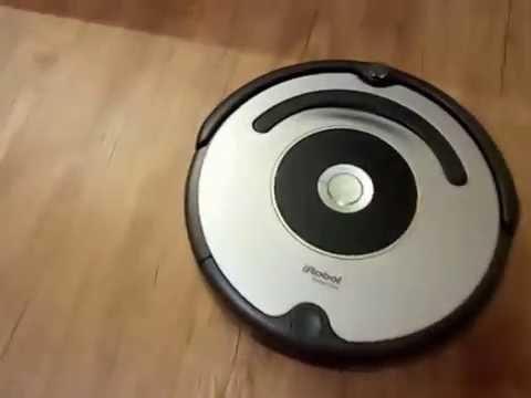 Моющий робот-пылесос iRobot Scooba 450 - YouTube