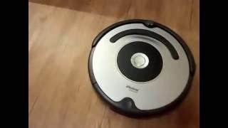 Мой робот-пылесос iRobot Roomba 616(Мой новый робот-пылесос iRobot Roomba 616. В ролике я сказал, что робот всегда работает час. Так мне сказал продавец,..., 2016-10-12T05:10:01.000Z)