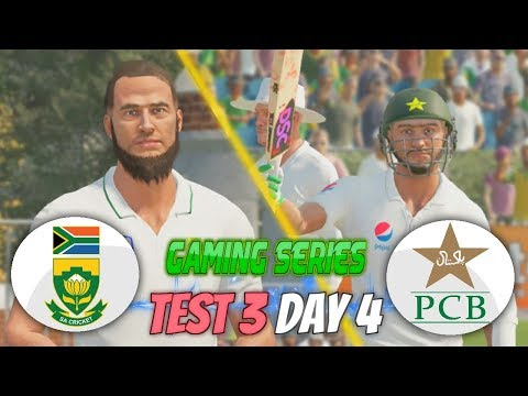 PAKISTAN (PGE) TOUR OF SOUTH AFRICA (GAMING SERIES) - 3RD TEST DAY 4 - DON BRADMAN CRICKET 17