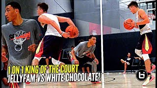 Jordan McCabe vs Jahvon Quinerly 1 on 1 King of The Court COOKOUT!! Ant Simons & Chris Herren Too!