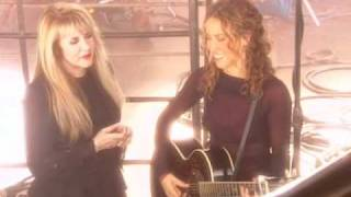 Stevie Nicks & Sheryl Crow - If You Ever Did Believe Video Shoot 2 of 2.mov