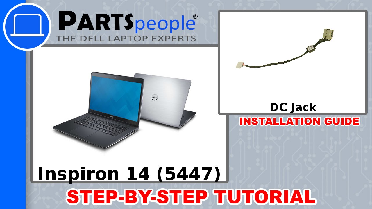 Dell Inspiron 14 5447 Dc Jack How To Video Tutorial Youtube