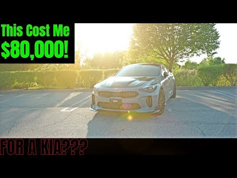 THE MOST EXPENSIVE KIA STINGER IN THE WORLD