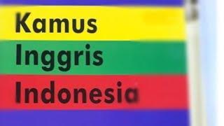 [906.51 KB] Kamus INGGRIS - INDONESIA untuk PC III Englis - Indonesian dictionary