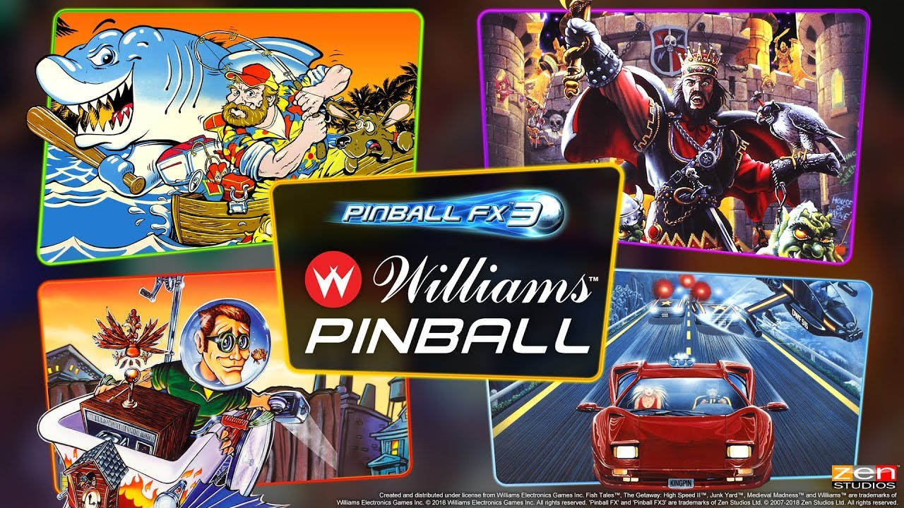 Pinball FX3 – Williams Pinball Volume 1 Review – TheSixthAxis