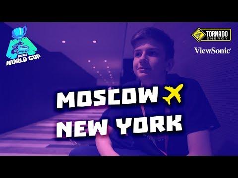 Из Москвы в Нью-Йорк | Gambit Fortnite World Cup