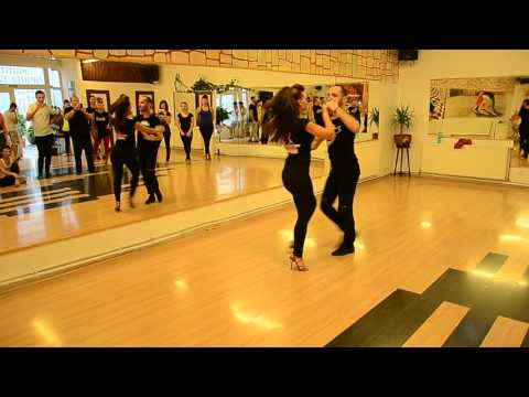 Sonrisa DC - Adrian & Tatiana - Salsa PW on1 - intermediate