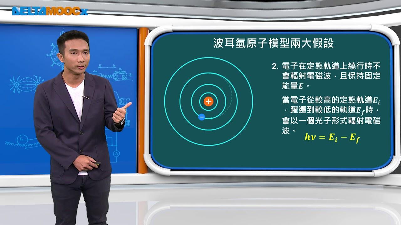高中物理_近代物理_波耳的氫原子模型_張智詠 - YouTube