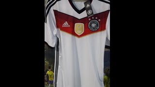 on sale 61061 48000 20150109 ADIDAS GERMANY 2014-16 HOME MENs 4 STAR Football National Team  Jersey Shirt M35022