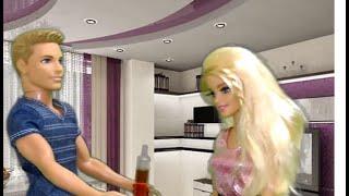Мир Барби Сериал - Мультфильм 1 сезон 18 серия. Кукла Барби, Кен, Штеффи и Челси. Doll Barbie serial