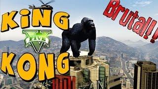 GTA V Online - KING KONG - Brutalmente Épico!! minijuego