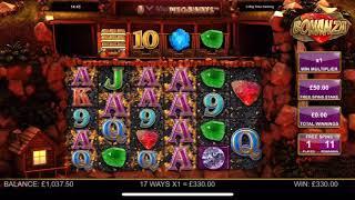 Bonanza big win on £50 bet
