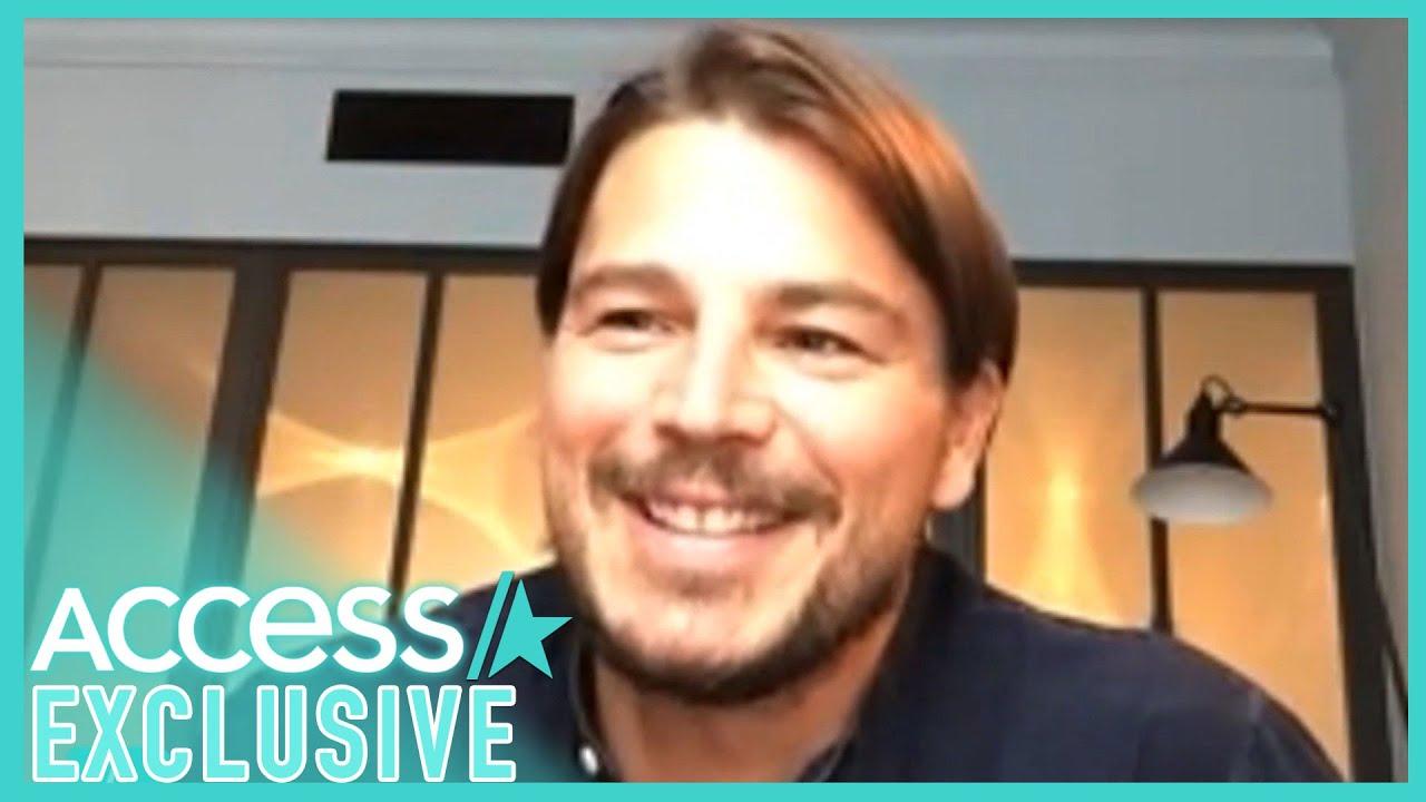 Josh Hartnett Jokes About His 'Walrus' Mustache & Hair Extensions In 'Most Wanted'