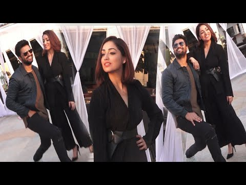 Vicky Kaushal and Paresh Rawal and Yami Gotham shooting looks and promoting upcoming film Uri