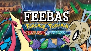 how to obtain and evolve feebas in pokemon omega ruby alpha sapphire