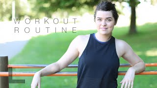 My Workout Routine & Fitness Q&A | ViviannaDoesFitness
