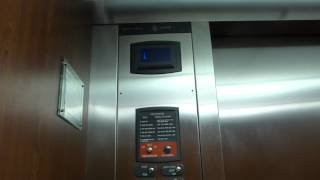 Thyssenkrupp Hydraulic Elevator At Collin College Central Park Campus Library