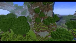 Minecraft Cinematic-Custom Built Terrain