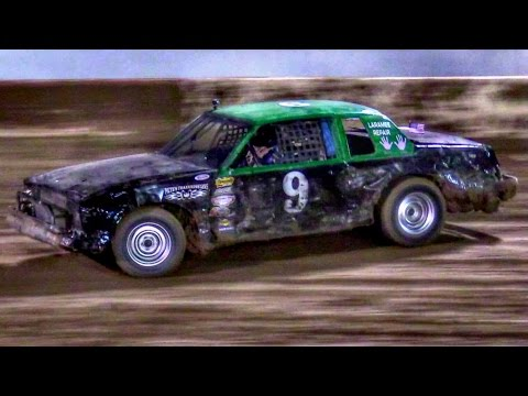 IMCA Hobby Stock Main At Canyon Speedway Park October 22nd 2016