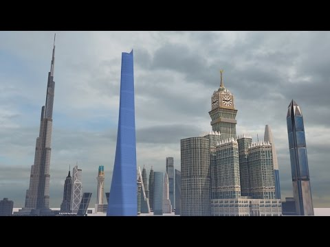 The Size Of SKYSCRAPERS At Scale
