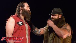 Luke Harper explains why he's realigned with Bray Wyatt: Raw, July 27, 2015