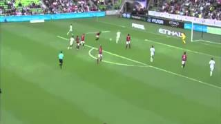Jacob Melling Goal - Melbourne City vs Sydney Wanderers 2-1 ( Australian A-League ) 01/02/2015