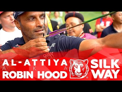 Al-Attiya's Toyota faster than arrow. SWR pilots competed archery with Mongols | Silk Way Rally 2019