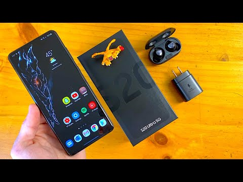 Samsung Galaxy S20 Ultra (Cosmic Black) Unboxing & First Impressions!