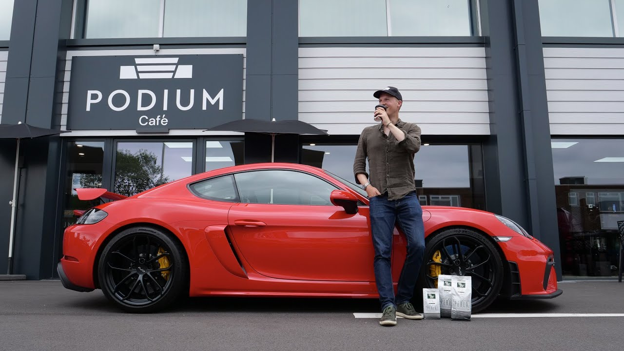 Getting Coffee In A PDK GT4: Is It Better Than A Manual?