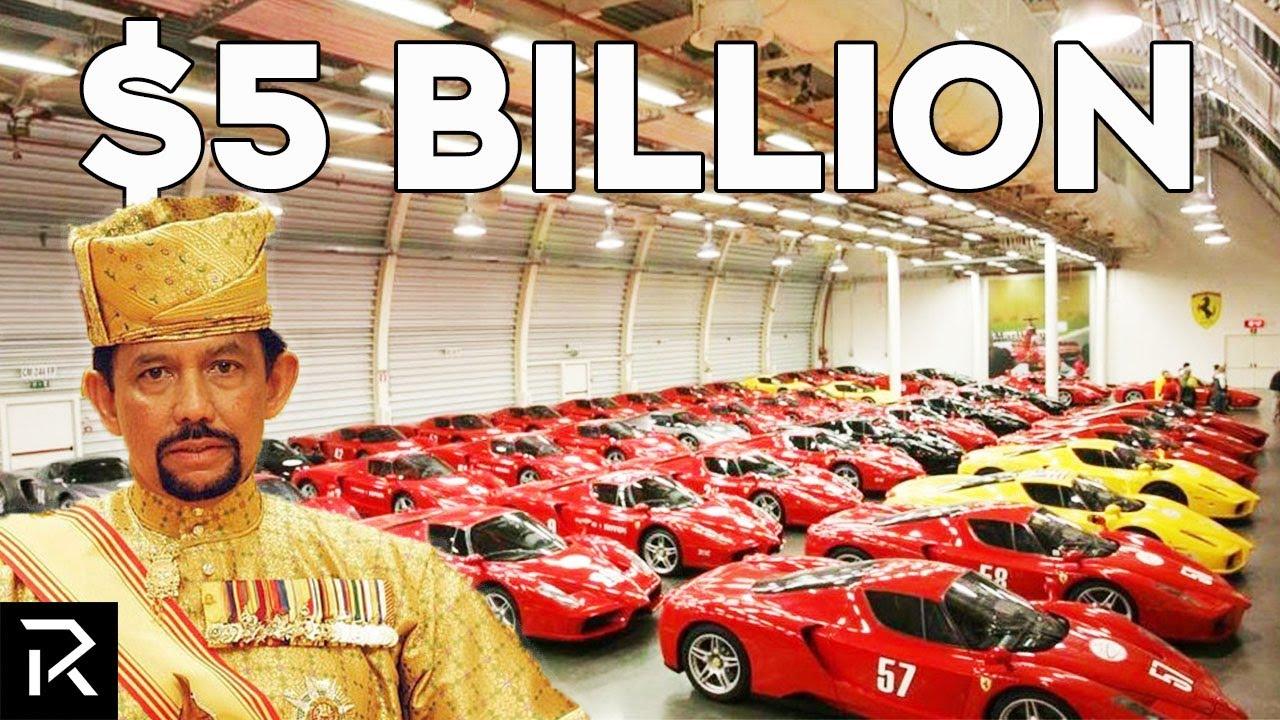 Inside the Sultan of Brunei's $5 Billion Dollar Car Collection