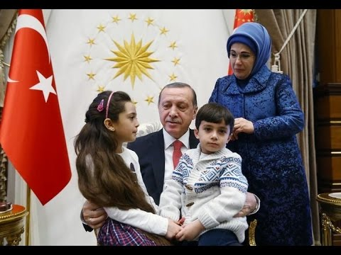 Syrian girl who tweeted from Aleppo meets Turkish President Erdogan