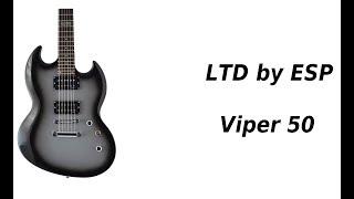 LTD by ESP Viper 50 - zmetalizowane SG-kształtne - FILMIKI O GITARACH  635